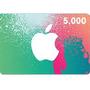 iTunes コード   5,000円