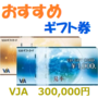 VJA(VISA)ギフトカード300,000円