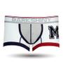 DARKHINY(ダークシャイニー)メンズボクサーパンツ emblem M white color