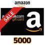 [期間限定]Amazon ギフトコード(5,000円券)