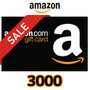 [期間限定]Amazonギフト Eメールタイプ(3,000円券)