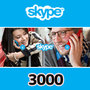 Skypeプリペイドカード(3000円)