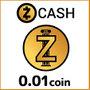 ジーキャッシュ(0.01ZEC)
